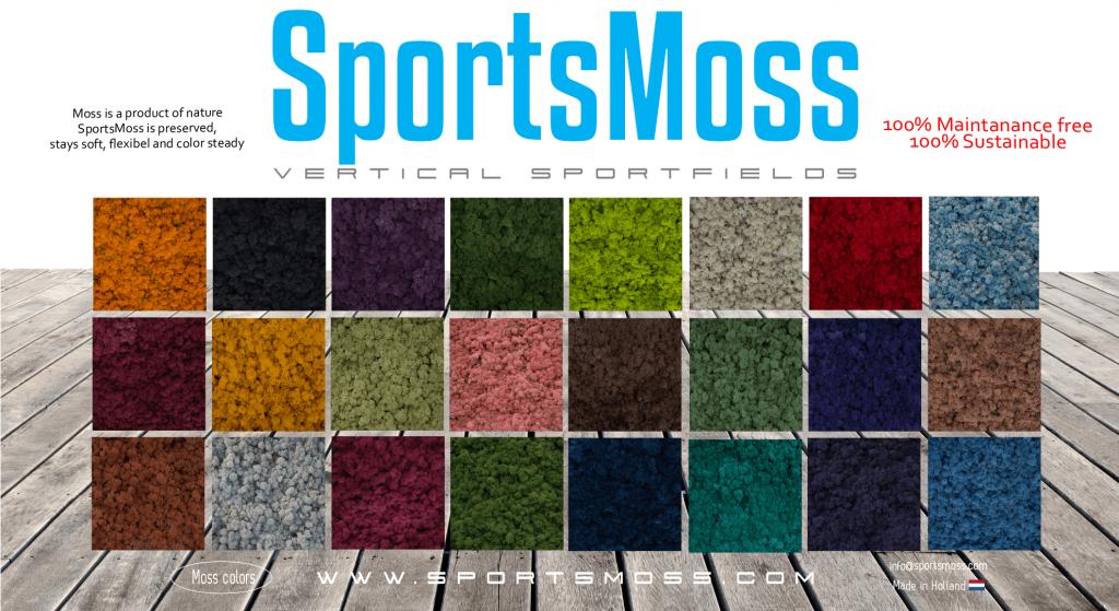 SportsMoss Mos kleuren